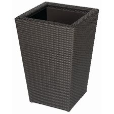 Vista Resin Wicker Square Planter