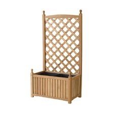 Lexington Rectangle Trellis Planter