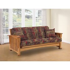 <strong>LifeStyle Solutions</strong> Rainer Wood Futon Frame