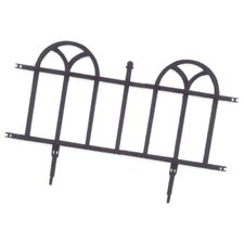<strong>Easy Gardener</strong> Weedblock Forged Wrought Iron Decorative Border
