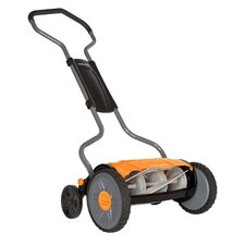 "<strong>Fiskars</strong> 17"" StaySharp Plus Push Reel Lawn Mower"
