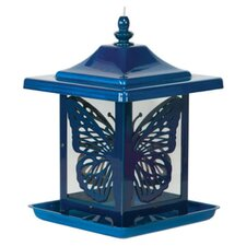 Electric Monarch Decorative Hopper Bird Feeder