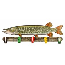 Northern Pike Coat Rack