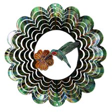 Eycatcher Kaleidoscope Hummingbird Wind Spinner