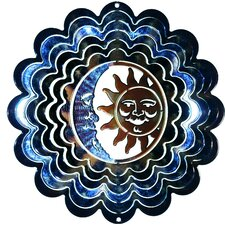 Eycatcher Kaleidoscope Sun and Moon Wind Spinner