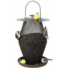 Lantern Caged Bird Feeder