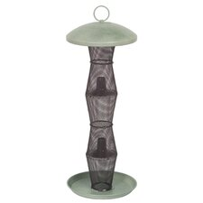 Finch Caged Bird Feeder