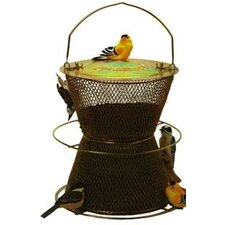 Original Hourglass Caged Bird Feeder