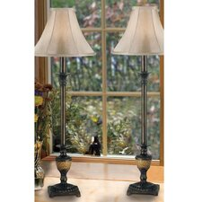 "Emily 30"" Table Lamp with Bell Shade"