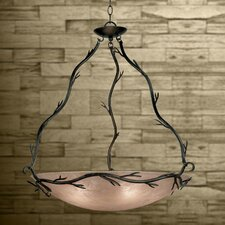 Twigs 5 Light Inverted Pendant