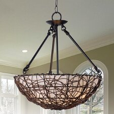 Thicket 3 Light Semi Flush Mount