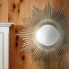 <strong>Kenroy Home</strong> Reyes Wall Mirror in Antique Silver