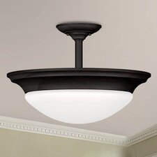 Dickens 2 Light Semi Flush Mount