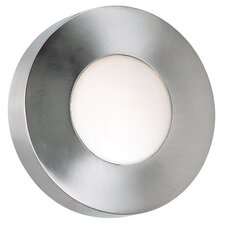 <strong>Kenroy Home</strong> Burst Round Outdoor Wall Sconce