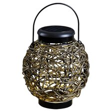 <strong>Kenroy Home</strong> Tangle 1 Light Solar Hanging Lantern