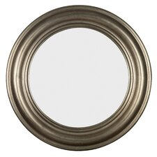 "32"" H x 32"" W Nob Hill Round Wall Mirror"