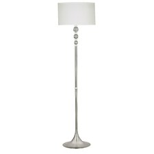 Luella Floor Lamp with Acrylic Accents