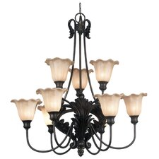 Cromwell 9 Light Chandelier