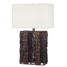 "Whistler 29"" H Table Lamp with Rectangle Shade"