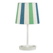 Finnegan Table Lamp with Striped Shade