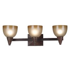 <strong>Kenroy Home</strong> Kyoto 3 Light Vanity Light