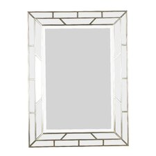 Lens Wall Mirror in Silver