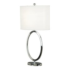 "Linus 30.5"" Table Lamp with Drum Shade"