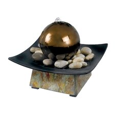 Slate Sphere Indoor Table Fountain
