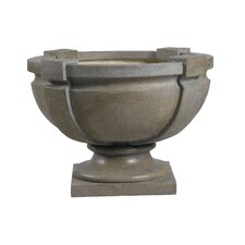 <strong>Kenroy Home</strong> Square Strap Garden Ornament Urn Planter