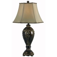 "Contessa 32"" H Table Lamp with Bell Shade"