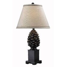 Pine Cone 1 Light Table Lamp