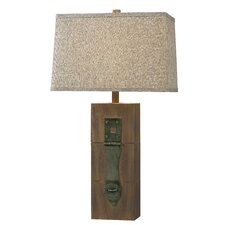 "Worcester 30"" Table Lamp with Rectangle Shade"