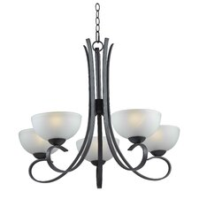 Maple 5 Light Chandelier