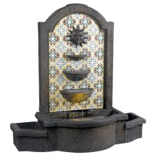 Cascada Resin Floor Fountain