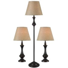 Genie Table Lamp and Floor Lamp Set