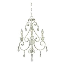 <strong>Kenroy Home</strong> Chamberlain 3 Light Chandelier