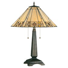 "Willow Avery 24.25"" H Table Lamp with Empire Shade"