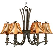Kwai 6 Light Chandelier