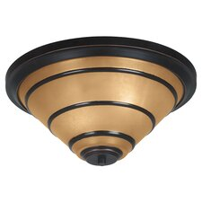 Wright 2 Light Flush Mount