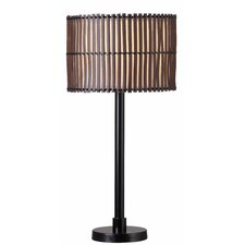 "Grove Outdoor 29"" Table Lamp with Drum Shade"