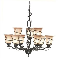 Twigs 11 Light Chandelier