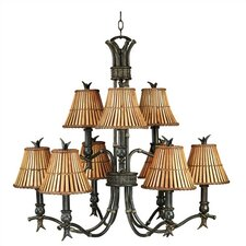 Kwai 9 Light Chandelier