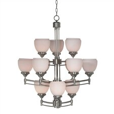 Pierce 12 Light Chandelier