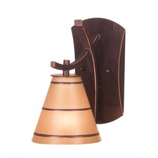 Brookings1 Light Wall Sconce