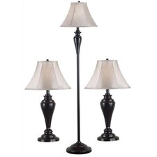 Kylie Table Lamp and Floor Lamp Set
