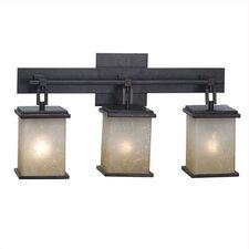 Utah 3 Light Vanity Light