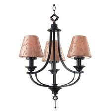 Outdoor 3 Light Belmont Outdoor Chandelier