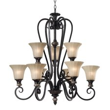 Leafston 9 Light Chandelier