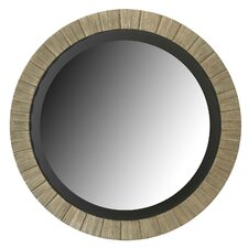 Montgomery Wall Mirror in Antique Silver