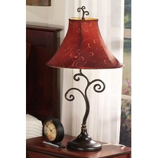 "Richardson 30"" H Table Lamp with Bell Shade"